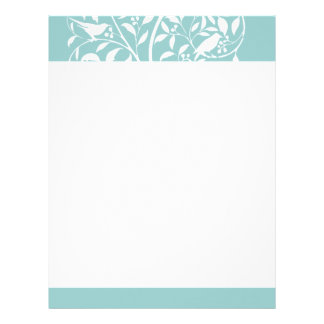 White Birds in Tree Letterhead