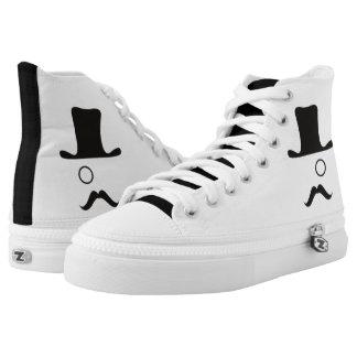 White/Black Original Rep High-Tops