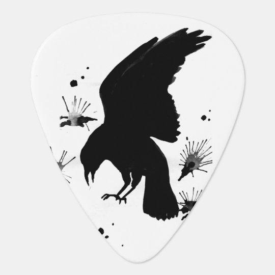 White Black raven nevermore Pick