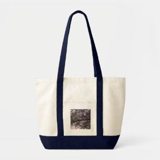 White Blossom Impulse Tote Bag