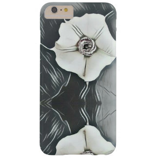 White Blossoms Cell Phone Case