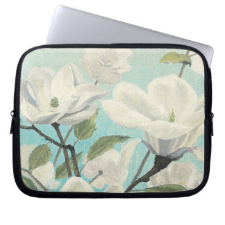 White Blossoms from the South Laptop Sleeve