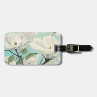 White Blossoms from the South Luggage Tag