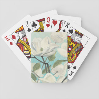 White Blossoms from the South Playing Cards