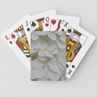 White Blossoms Themed Classic Playing Cards