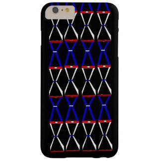 White Blue Ebony iPhone 6/6s Plus Case