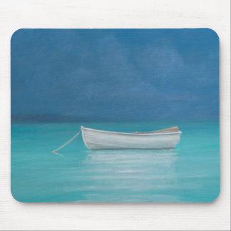 White boat Kilifi 2012 Mouse Pad