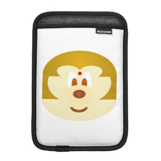 White Bob Hair Lady 鲍 鲍 Ipad Mini Rickshaw Sleeve