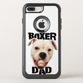 White Boxer Baseball dad iphone 7 plus phone case
