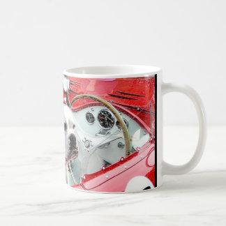 White Boxer Dog in Maserati mug