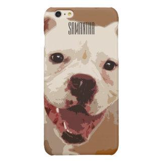 White Boxer Dog Iphone 6/6s case