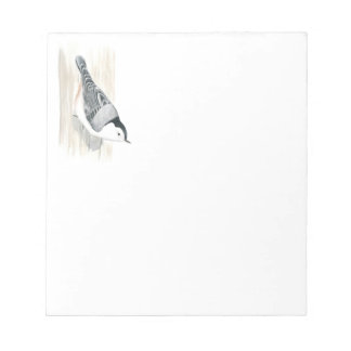 White-breasted Nuthatch Notepad