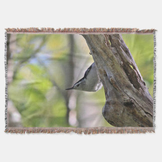 White-breasted Nuthatch Throw