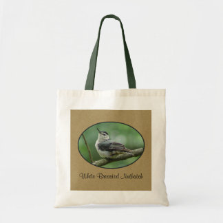 White Breasted Nuthatch Tote Bag 2