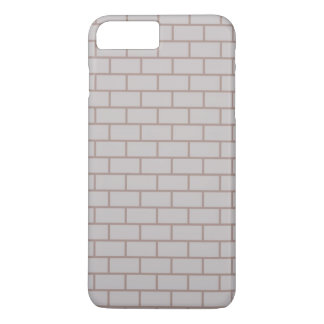 White brick wall iPhone 7 plus case