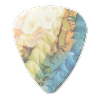 White Bubble Guitar Pick