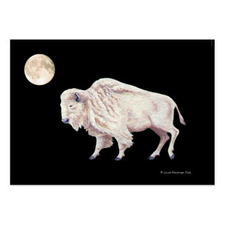 White Buffalo Full Moon Pack Of Chubby Business Cards