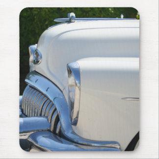 White Buick mousepad