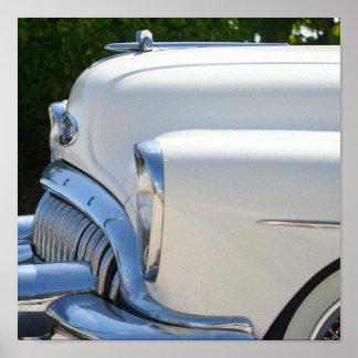 White Buick print