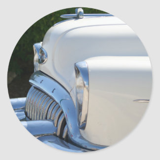 White Buick sticker