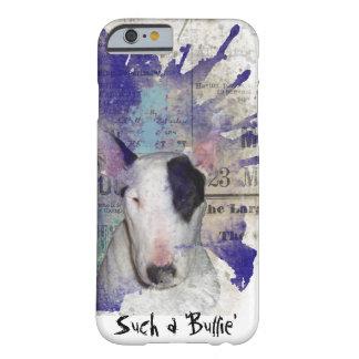 White Bull Terrier News Splash iPhone 6/6s Case