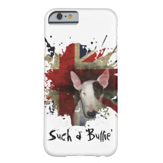 White Bull Terrier Union Jack iPhone 6/6s Case