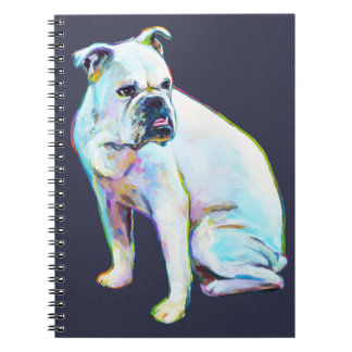 White Bulldog Notebook