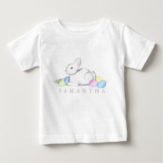 White Bunny Baby Fine Jersey T-Shirt