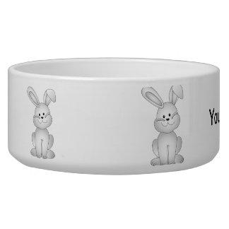 White bunny clipart