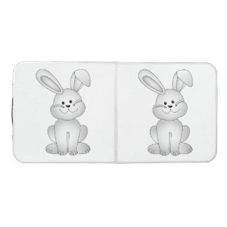 White bunny clipart beer pong table