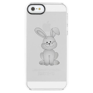 White bunny clipart clear iPhone SE/5/5s case