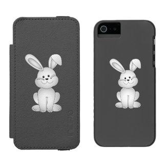 White bunny clipart incipio watson™ iPhone 5 wallet case