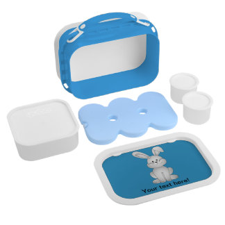 White bunny clipart lunchboxes