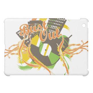 White Bust Out Urban Hip Hop Music  iPad Mini Cases