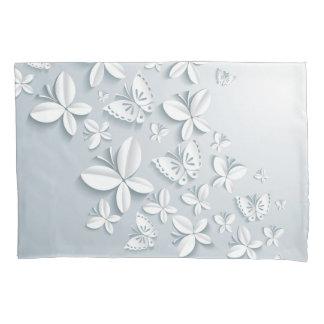 White Butterflies (1 side) Pillowcase