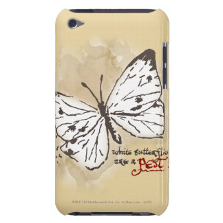 White Butterflies are a Pest iPod Touch Case-Mate Case
