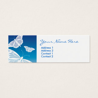 White Butterfly Skinny Cards
