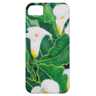 White Calla Lilies iPhone 5 Cover