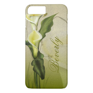 White Calla Lily Case-Mate iPhone Case