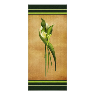 White Callas Rack Card
