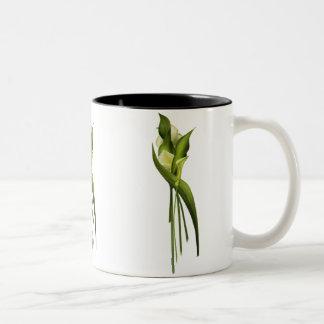 White Callas Two-Tone Coffee Mug