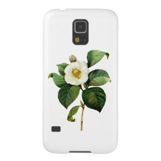 White Camellia by Pierre Joseph Redoute Galaxy S5 Covers
