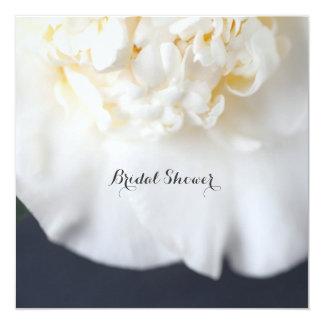 White camellia flower card