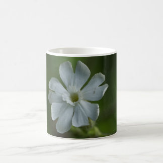 White Campion Wildflower Floral Mug