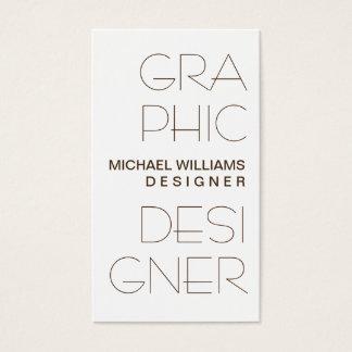 WHITE CARD SIMPLE ELEGANT GRAPHICAL DESIGN