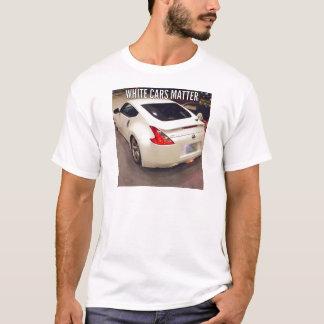 White Cars Matter T-Shirt