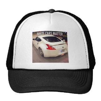 White Cars Matter Trucker Hat
