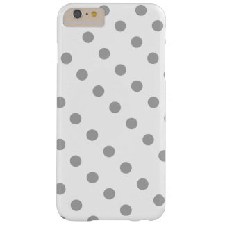 White Case with Gray Polka Dots