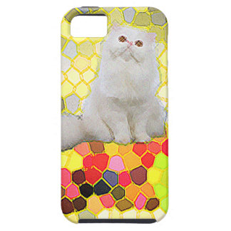 White Cat iPhone 5 Case