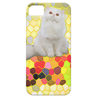 White Cat iPhone 5 Cases